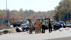 Fatal crash, Hamilton, SIU