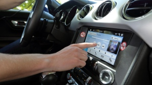 The report found drivers using in-vehicle technologies such as touch screen features take their eyes and mental focus off the road. (AAA Foundation)