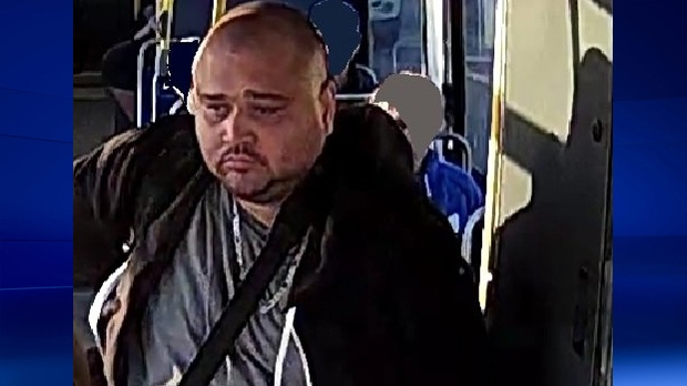 Waterloo Regional Police say they want to talk to this man about a sexual assault in Kitchener's McLennan Park.
