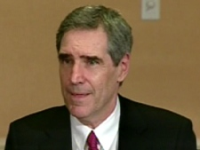 Liberal Leader Michael Ignatieff sits down for a round table discussion in Washington, D.C., on Thursday, April 23, 2009.