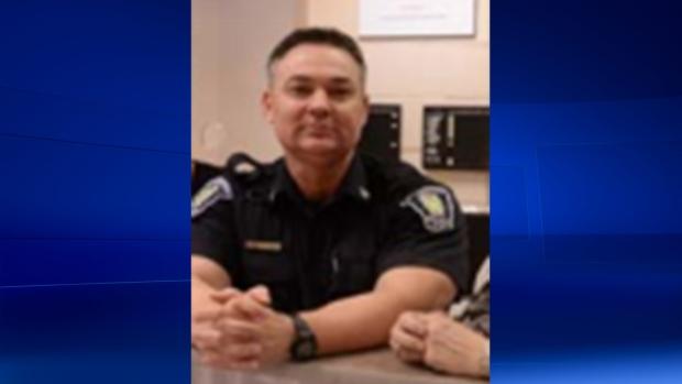St. Thomas police Constable Garry Christiansen