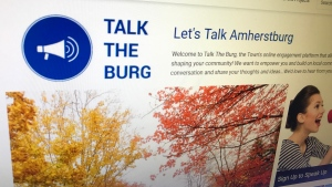 Talk the burg