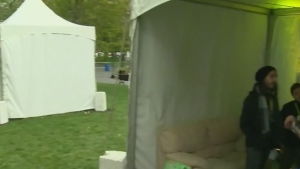 CTV Montreal: Sleeping outdoors to raise funds