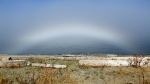 CTV Vancouver Island viewer Tanja Kerr snapped some beautiful photos of the fog above Goose Spit in Comox, and a fogbow at Kin Beach. Sept. 28, 2017. (Photo courtesy Tanja Kerr)