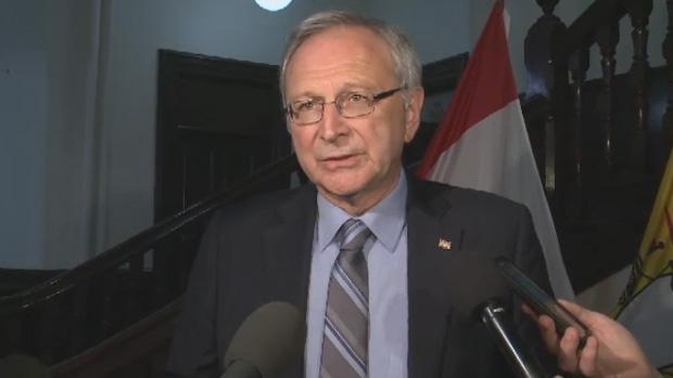 New Brunswick Opposition Leader Blaine Higgs blames Premier Brian Gallant for the Energy East pipeline falling apart.