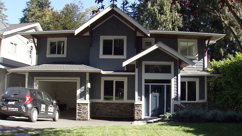 A home at 2124 Mackay Ave. in North Vancouver is available under the rent-to-own option.