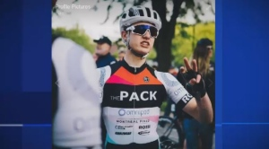 The victim, 18-year-old Clement Ouimet, was a competitive cyclist.