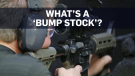 How 'bump stocks' increase a gun's rate of fire