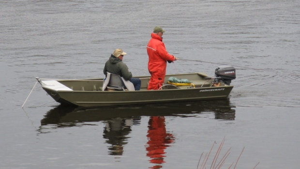 Fishing in the Miramichi River