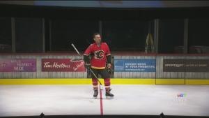 CTV Montreal: Theo Fleury play opens
