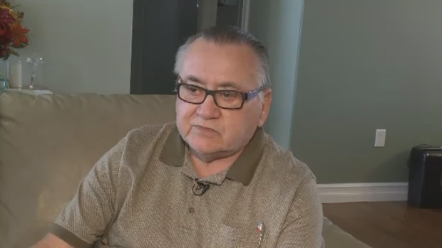 Joe Young says his 92-year-old mother was transferred between hospitals by taxi. (CTV Atlantic)