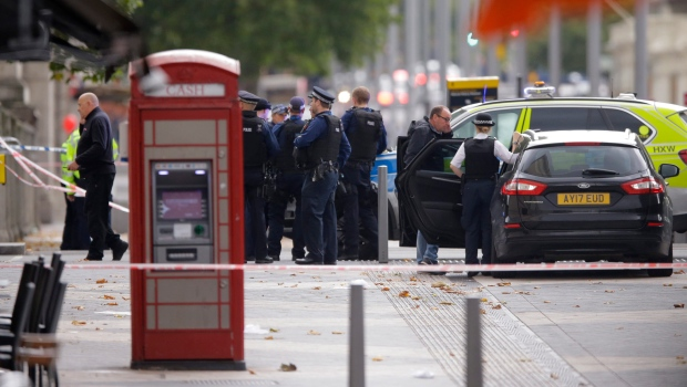 Police: Crash in London traffic accident, not terror