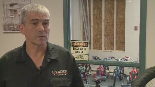 Jim Goguen says this isn't the first time his store has been targeted by thieves.