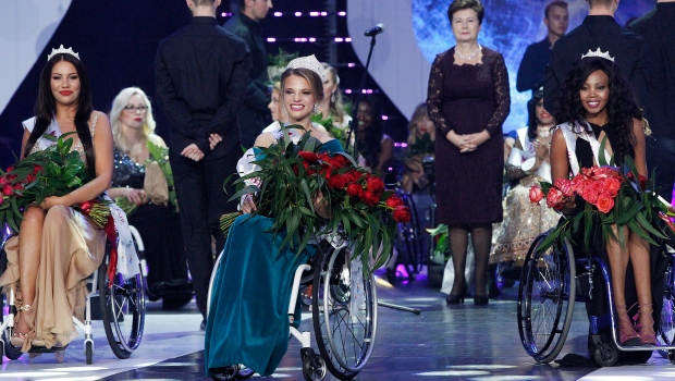 Miss Wheelchair World Aleksandra Chichikova