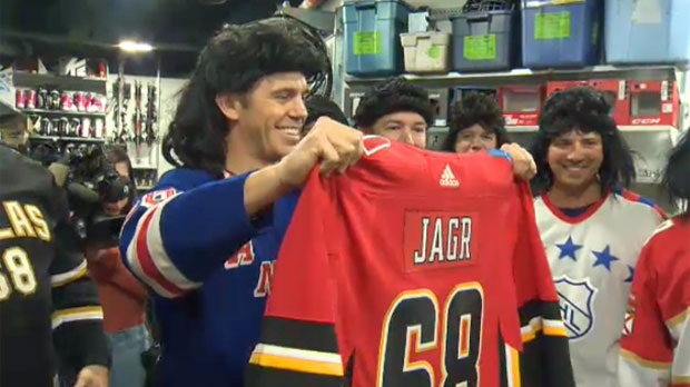 best sneakers 5a404 32ab4 Hot off the presses: Travelling Jagrs' welcome Flaming C to ...