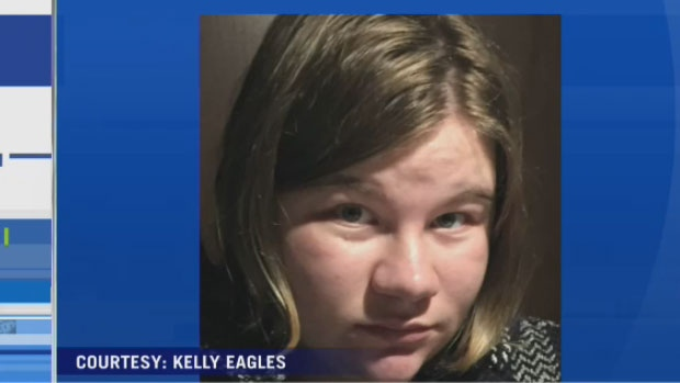 RCMP say Mackenzie Eagles has been located Saturday, Oct. 14, 2017.