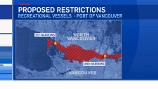 Vancouver Port Authority recreational vessel ban