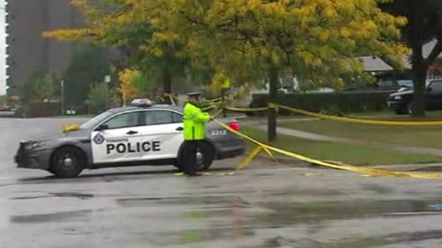 Police are investigating a triple shooting in Etobicoke that left one man dead.