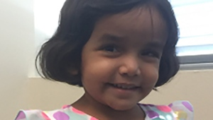 Sherin Mathews, 3, was last seen outside the family's Richardson, Texas home at around 3 a.m. on Oct. 7. (Photo: Richardson Police Department/Facebook)