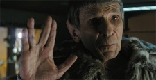 Leonard Nimoy as Spock in Paramount Pictures' 'Star Trek'