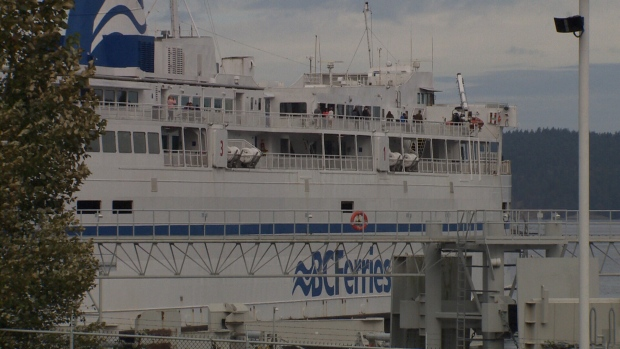 Missing on BC Ferries sailing