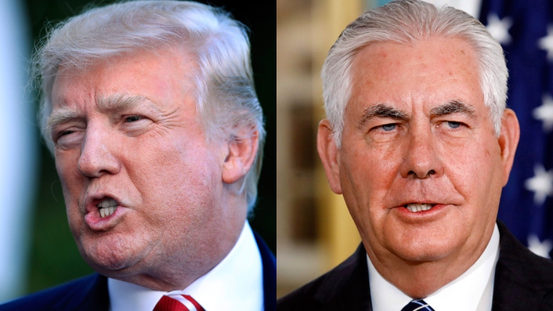Trump says he and Tillerson should 'compare IQ tests'