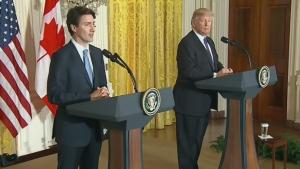 CTV News Channel: Trudeau heads to Washington D.C.