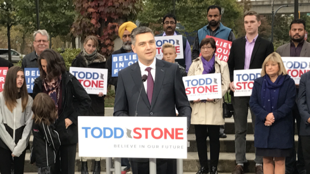 BC Liberal leadership candidate visits Vernon