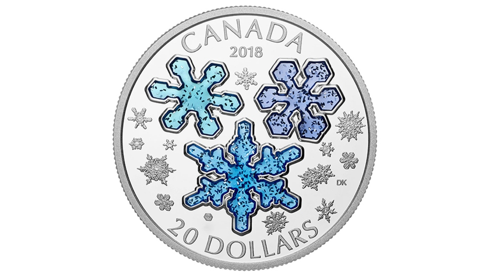 An image of the limited edition coin. (The Royal Canadian Mint)