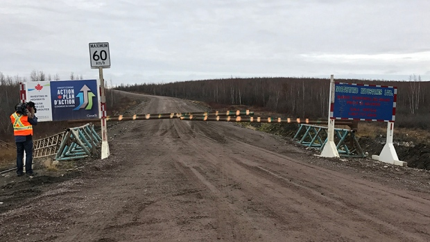 The Inuvik Tuktoyaktuk Highway will be the first highway that can take drivers all the way to the Arctic Ocean. (CTV News)