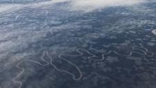 CTVNews.ca: Aerial view of Inuvik