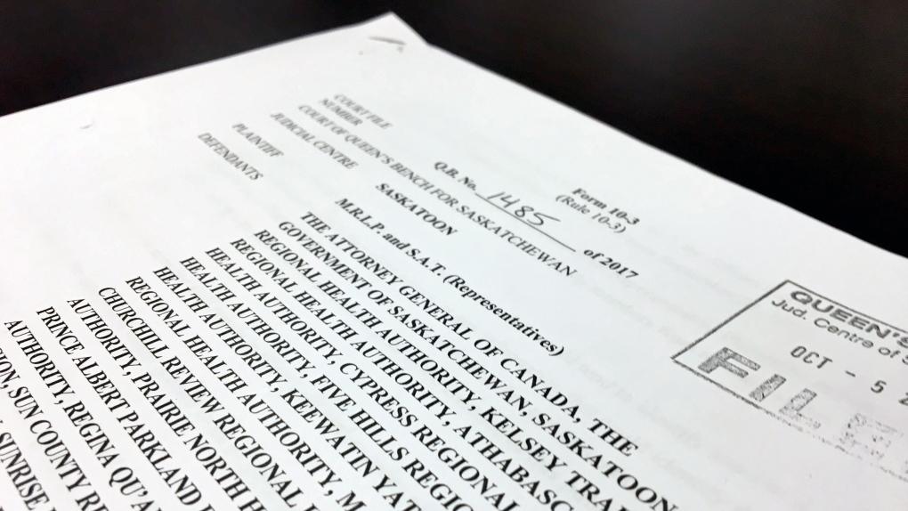 Statement of claim - tubal ligation case