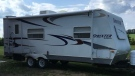 Daniel Ebert shared this photo of a trailer that was stolen over the Thanksgiving weekend. Supplied.