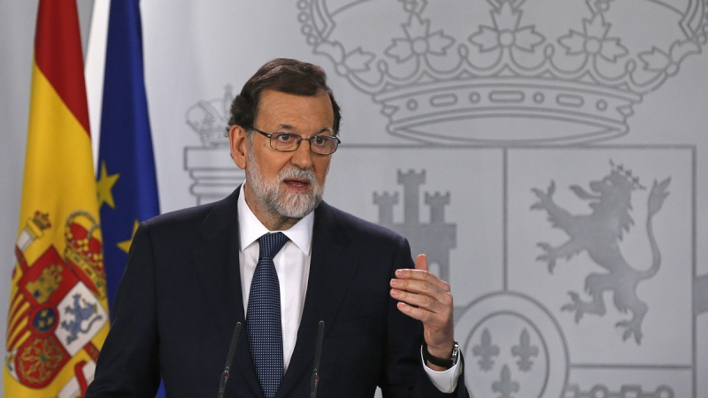 Spain's PM seeks clarity from Catalonia on independence
