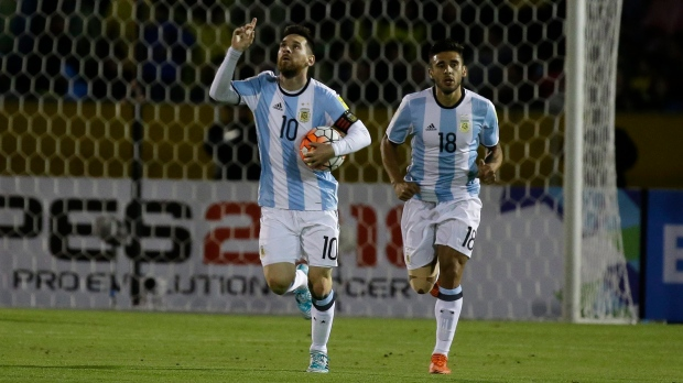 Messi His 3 Goals Lift Argentina To World Cup