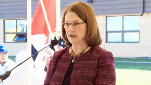 Minister of Indigenous Services Jane Philpott