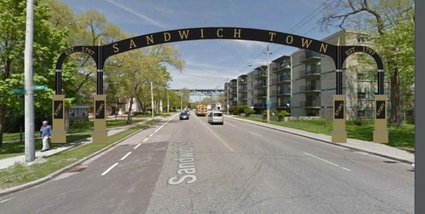 Sandwich Street arch