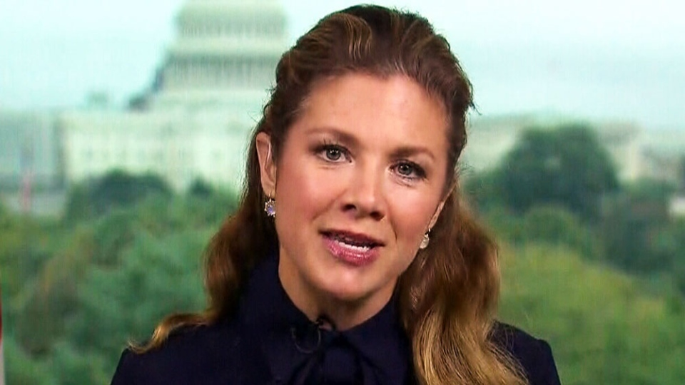 Sophie Grégoire Trudeau speaks to CTV Power Play's Don Martin from the Canadian Embassy in Washington, D.C. on Oct. 11, International Day of the Girl Child.