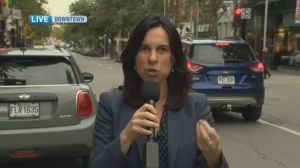 Projet Montreal mayoral candidate Valerie Plante