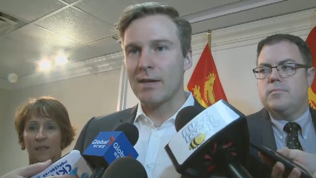New Brunswick Premier Brian Gallant said Wednesday no provincial money was given to Sears following the announcement of a new call centre.