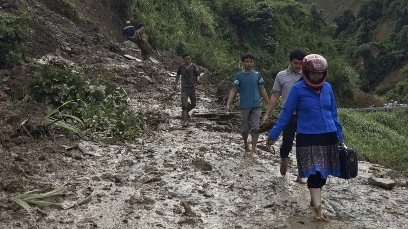 Floods, landslides kill more than 40 in Vietnam