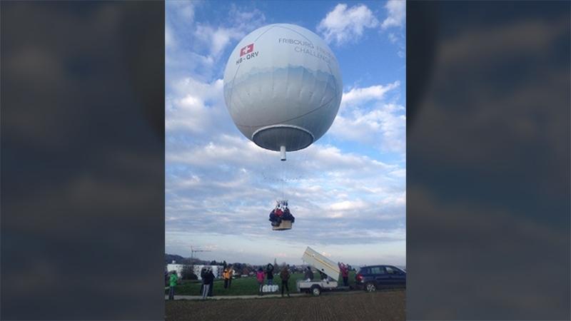 Fribourg-Freiburg Challenge balloon