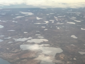 Tuktoyaktuk, N.W. T. is seen in this aerial view (Melanie Nagy / CTV News)