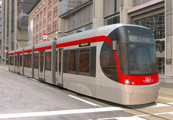 Bombardier streetcar