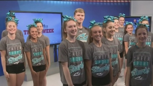 Myers Team of the Week: Cheer Sport Pacific Sharks