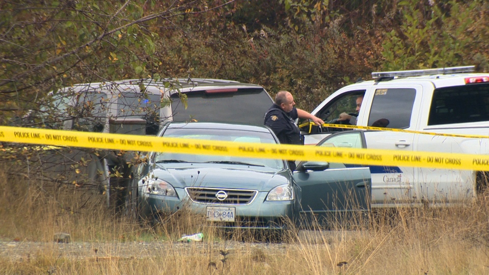 A 35-year-old man has died from injuries sustained in an RCMP-involved shooting in Qualicum Beach that is now being investigated by B.C.'s police watchdog. Oct. 12, 2017. (CTV Vancouver Island)