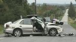 Fatal crash north of Alliston