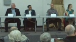 Ward 1 candidates take part in a forum at the Tuscany Centre on October 11, 2017 (image: 2017 Ward 1 - All Candidates Forum)
