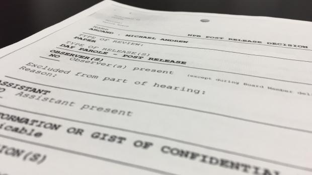 Michael Andrew Arcand documents