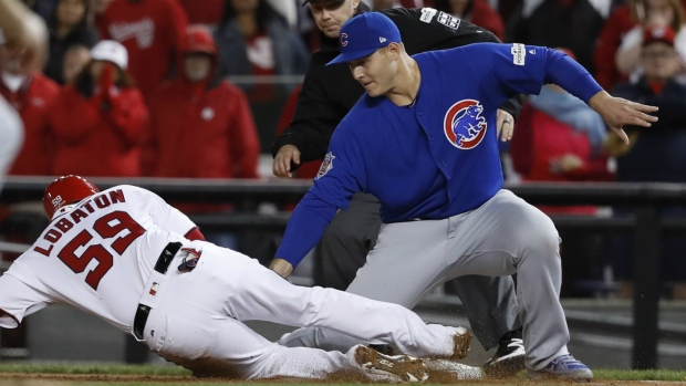 Cubs beat Nationals in Washington